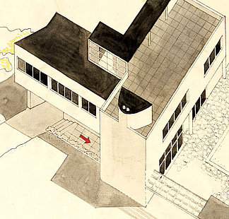 House in Ferriby by Leslie Martin and Sadie Speight, 1935