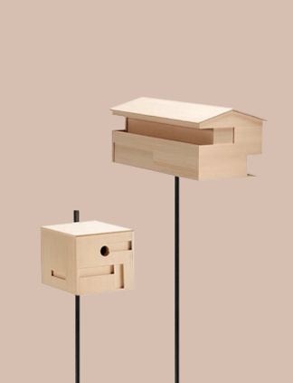 different models of modern wooden birds houses