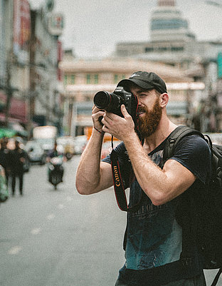 Photographer on the street