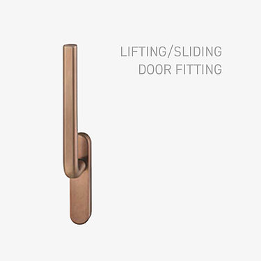 lifting sliding door fitting
