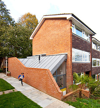 folded wedge townhouse