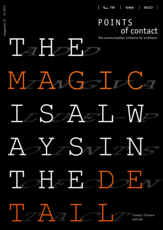 Cover of the first magazine THE MAGIC IS ALWAYS IN THE DETAIL