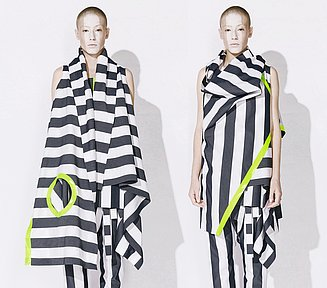 Geometry Meets Fashion Extraordinary Garments Points Of Contact The Communications Initiative For Architects